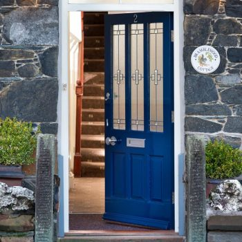 Bramblewood Cottage front door, 4 star guest house in Keswick