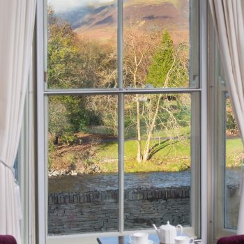 View from Bramblewood Cottage, 4 star guest house in Keswick