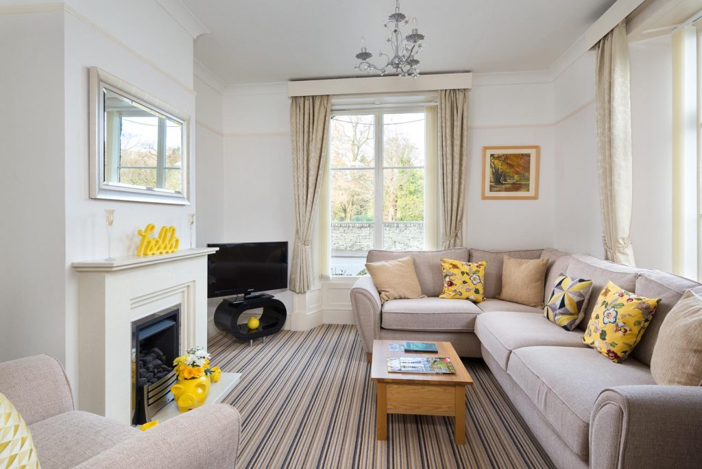 Guest lounge at Bramblewood Cottage, 4 star guest house in Keswick